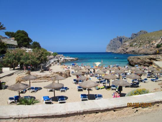 Playa - Picture of Cala Molins, Cala San Vincente - TripAdvisor