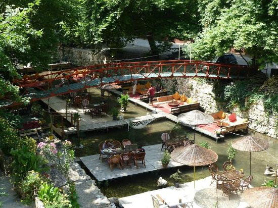Arikanda River Garden Hotel: Die Aussicht vom Balkon des Zimmers !