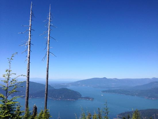 Cypress Mountain: View from the top