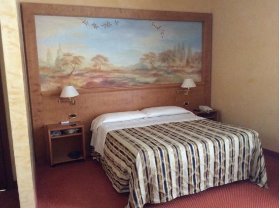Hotel Plaza Padova: la stanza
