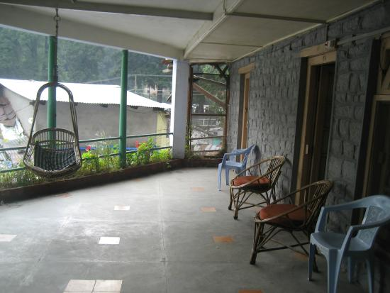 The Royal Hotel: Private Verandah of suite 44