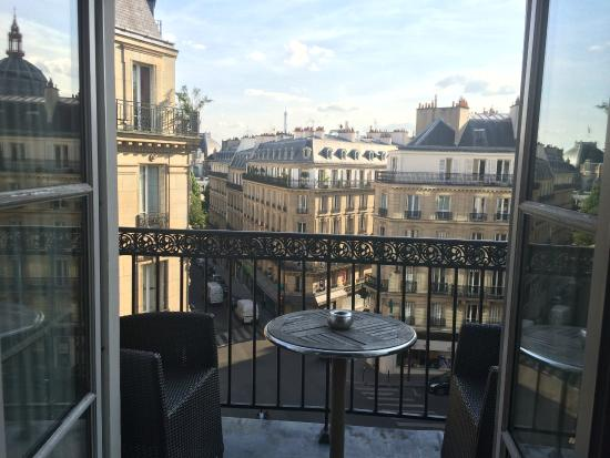Hotel WO - Wilson Opera by Elegancia: View from Room / eiffel tower
