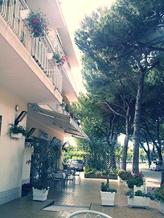 Franca hotel : Entrata hotel