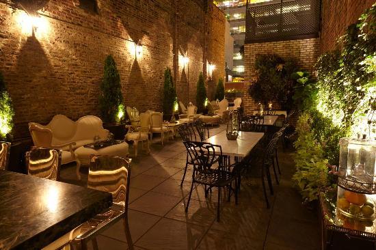 The garden picture of celeste chicago tripadvisor for Garden rooms reviews
