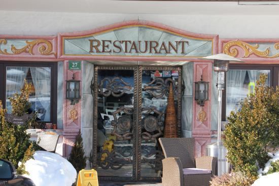 Hotel Glockenstuhl: Entrée restaurant