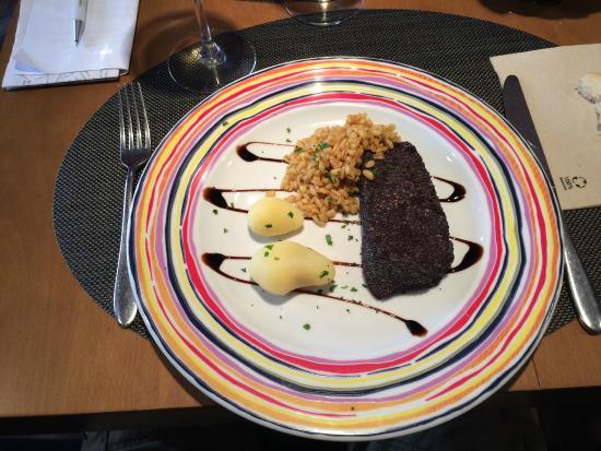 Restaurante La Tragantúa : hoofdmenu tonijn