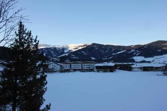Hotel Glockenstuhl: vue de la chambre