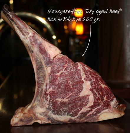 hausgereiftes dry aged rib eye steak picture of texas. Black Bedroom Furniture Sets. Home Design Ideas