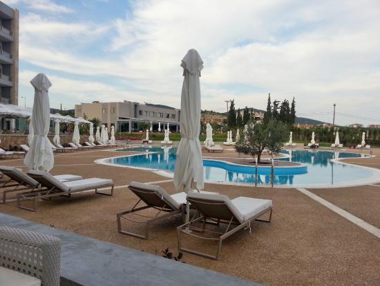 Hauptpool - Picture of Ikos Olivia - Ikos Resorts, Gerakini ...