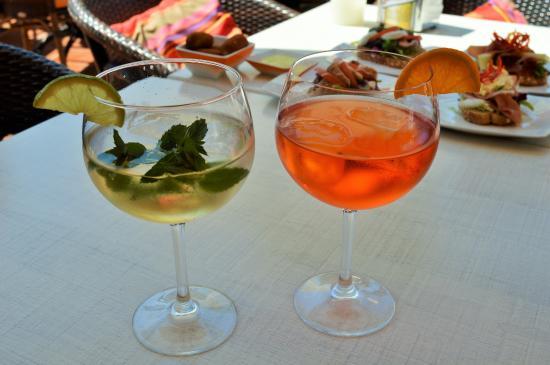 Tapas Y Mas: Nice drinks