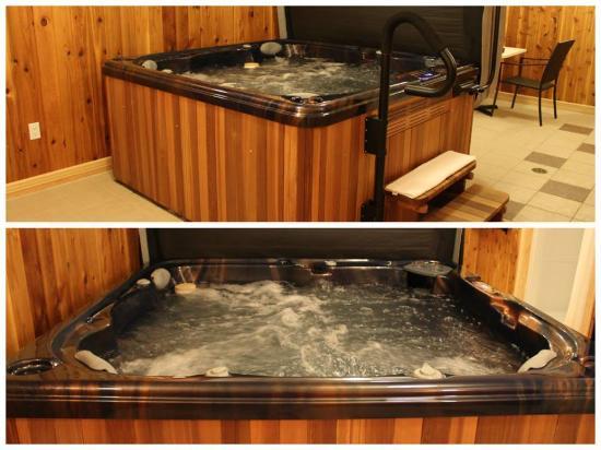 Sugar Hill Inn: Our Hot Tub