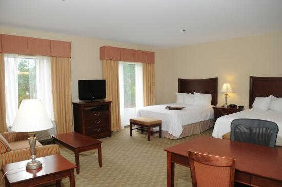 Hampton Inn & Suites Southern Pines-Pinehurst: 2 Queen Suite