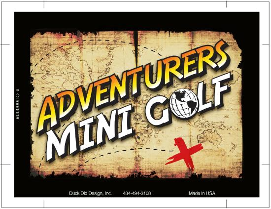 ‪Adventurers Mini Golf‬