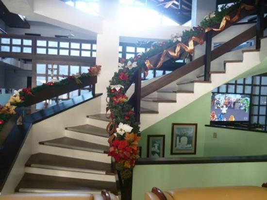 Pousada Brisa do Mar: escada