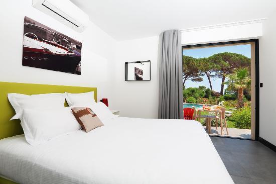 Villa Californie : Chambre