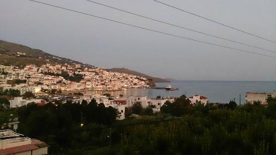 Villa Arni: Θέα από το δωμάτιο