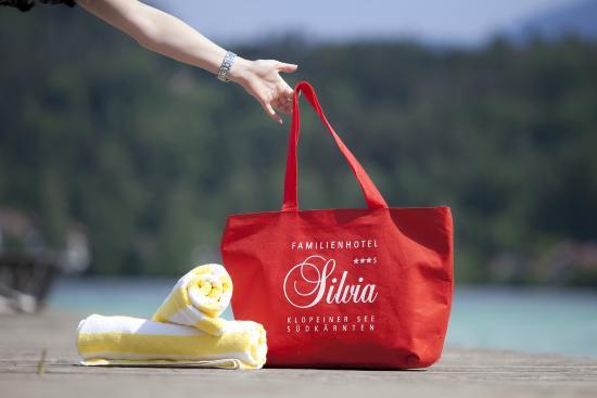 Hotel Silvia: Badetasche