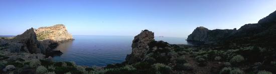Anastasia & Stathis Bed and Breakfast: Falasarna vecchia , inizio trekking verso Balos...