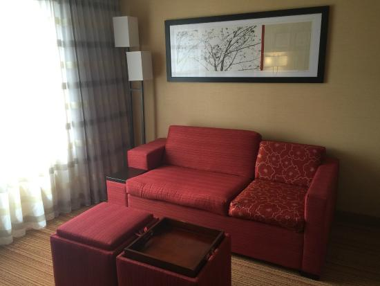 Courtyard by Marriott Dunn Loring Fairfax: Couch / Pull-Out Bed