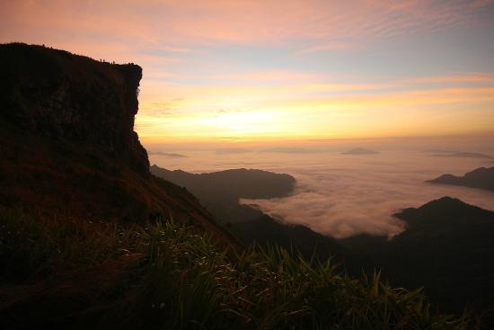 Phu Chi Fa Forest Park: ก่อนพระอาทิตย์จะขึ้น