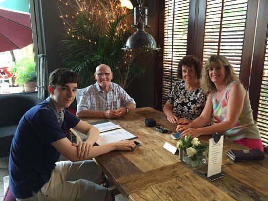 The Terrace: Family Visit! June 2015