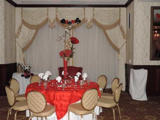 Nassau Inn : Head table