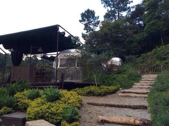 Hotel Museo Spa Casa Santo Domingo: Casa rodantes antiguas en Santo Cielo
