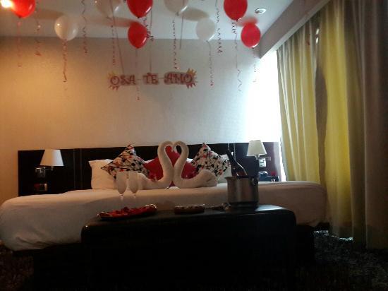 Hotel Cima: Noche de Bodas