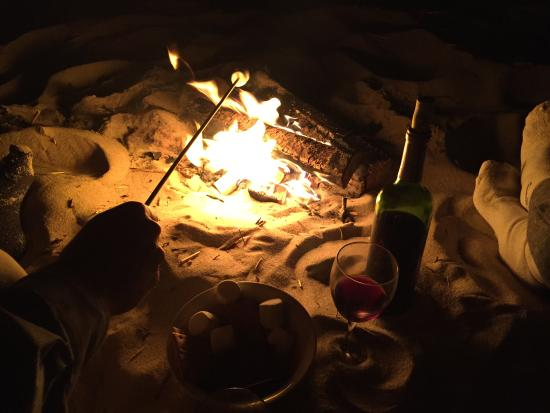 Linger Longer By The Sea: Beach Fire