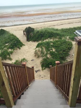 Linger Longer By The Sea: Steps from Balcony to Beach