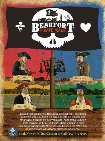 Beaufort Pirate Walk