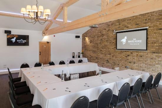 The White Horse: White Horse Barn set for Business Conference