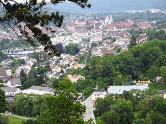 Wellnesshotel Schonblick Eichstatt : Blick auf Eichstätt
