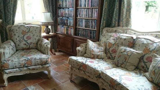 Pressigny les Pins, France: salon