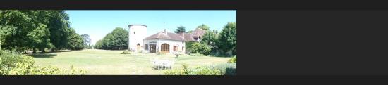 Pressigny les Pins, France: le parc