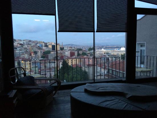 4Floors Istanbul: View from living room