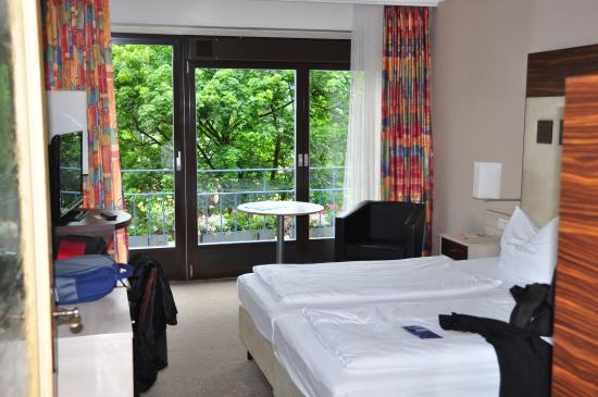 AVALON Hotel Bad Reichenhall: Our room