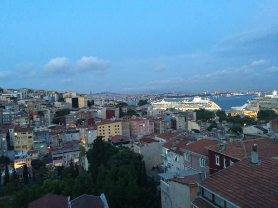 4Floors Istanbul: View from top floor