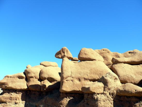 Goblin Valley State Park: camel