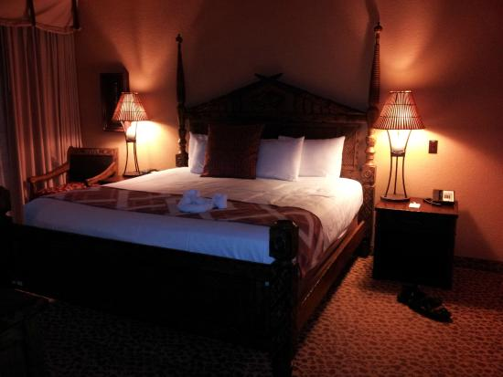 King Bed Master One Bedroom Picture Of Disney 39 S Animal Kingdom Villas Kidani Village