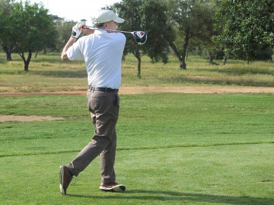 Restaurante Golf Segovia: Golf y comida