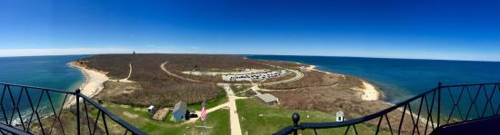 Harvest on Fort Pond: Montauk Lighthouse (view from the top)