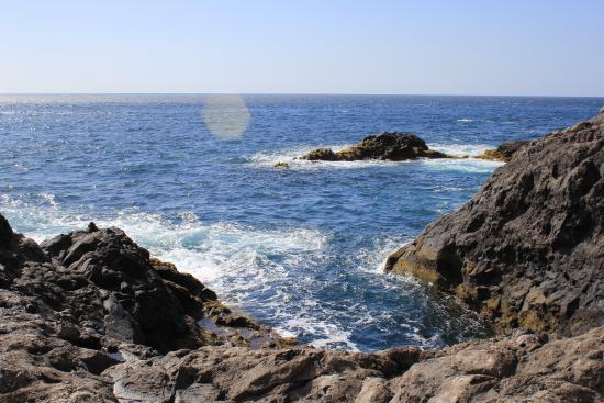 Puntagorda, España: Вид на океан