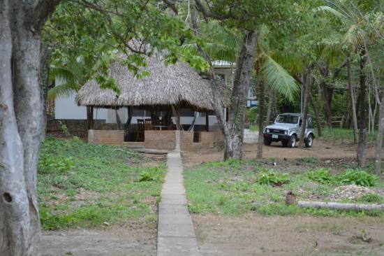 Parque Maritimo el Coco: vista de la cabaña