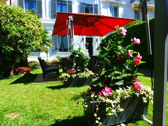 Hotel Pruly: le jardin