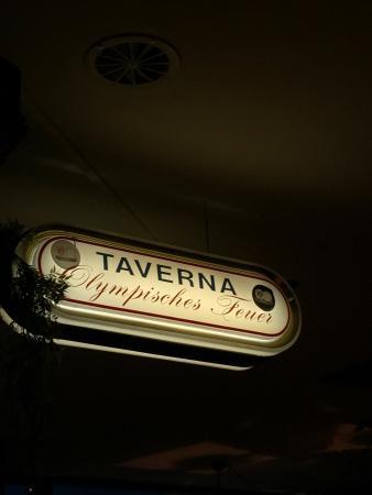 Taverna Olympisches Feuer