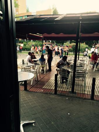 Cafeteria Manhattan : Terraza cafetería manhattan