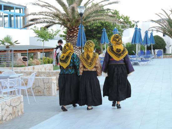 Skiros Palace Hotel: soirée grecque
