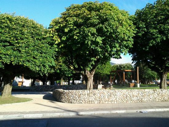 Plaza de Armas de Puerto Aysen