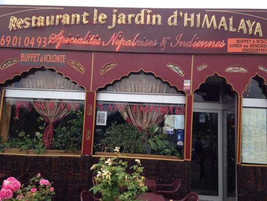 Le jardin d 39 himalaya longpont sur orge restaurant avis for Restaurant le jardin domont